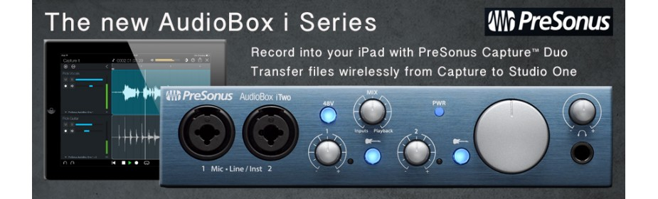 AudioBox i Series
